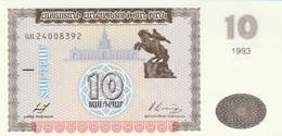 BANCONOTA ARMENIA 10 UNC (MK559 - Armenia