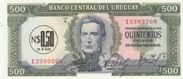 BANCONOTA URUGUAY 500 UNC (MK579 - Uruguay