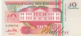 BANCONOTA SURINAME 10 UNC (MK581 - Surinam