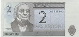 BANCONOTA ESTONIA 2 UNC (MK593 - Estonia