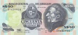BANCONOTA URUGUAY 50 UNC (MK656 - Uruguay