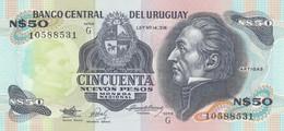 BANCONOTA URUGUAY 50 UNC (MK659 - Uruguay