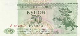 BANCONOTA TRANSNITRIA 50 UNC (MK669 - Moldova