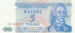 BANCONOTA TRANSNITRIA 5 UNC (MK672 - Moldova
