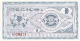 BANCONOTA MACEDONIA 10 UNC (MK678 - Macedonia