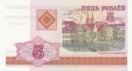 BANCONOTA BIELORUSSIA 5 UNC (MK713 - Belarus