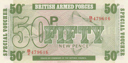BANCONOTA BRITISH ARMED FORCE 50 UNC (MK726 - British Armed Forces & Special Vouchers
