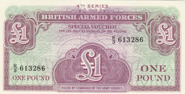 BANCONOTA BRITISH ARMED FORCE 1 UNC (MK730 - British Armed Forces & Special Vouchers