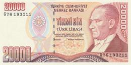 BANCONOTA TURCHIA 20000 UNC (MK740 - Turkey