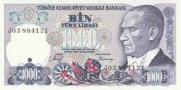 BANCONOTA TURCHIA 1000 UNC (MK741 - Turkey