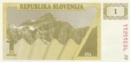BANCONOTA SLOVENIA 1 UNC (MK744 - Slovenia