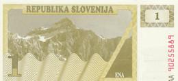BANCONOTA SLOVENIA 1 UNC (MK745 - Slovenia