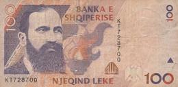 BANCONOTA ALBANIA 100 VF (MK768 - Albania