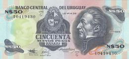 BANCONOTA URUGUAY 50 UNC (MK788 - Uruguay