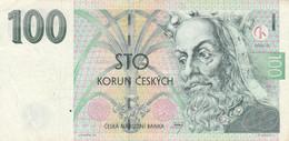 BANCONOTA REPUBBLICA CECA 100 VF (MK805 - Czech Republic