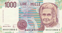 BANCONOTA ITALIA MONTESSORI 1000 UNC (MK808 - 1000 Liras
