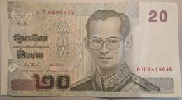 BANCONOTA TAILANDIA 20 VF (MK846 - Thailand