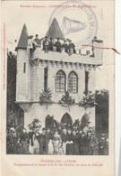 (DU 02) EURE , CORNEVILLE Les Cloches ,  Chandeleur 1907 - Sonstige Gemeinden