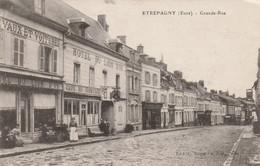(DU 02) EURE ,ETREPAGNY,  PROVEMONT ,  Grande Rue - Sonstige Gemeinden