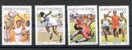 RC 20889 BOPHUTHATSWANA N° 181 / 184 SPORT BASKET TENNIS FOOTBALL COURSE A PIED NEUF ** MNH TB - Bophuthatswana
