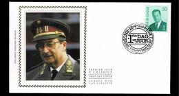 FDC Zijde : Nr 2551:  Stempel: Brussel1-1000-Bruxelles1 - 1991-00