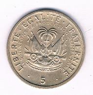 5 CENTIMES 1975 HAITI /3115/ - Haiti