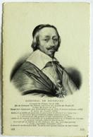 Cartolina Cardinal De Richelieu - Historische Persönlichkeiten