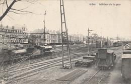 Arlon ,  Intérieur De La Gare (  Train , Intérieur Station , Statie , Ligne De Bruxelles ) - Arlon