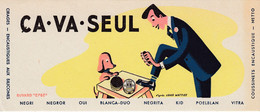 BUVARD & BLOTTER - CIRAGE CA VA  SEUL - Encaustique NETTO - Illustration Louis Wattiez - Unclassified