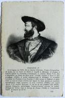 Cartolina Francois I° - Historische Persönlichkeiten