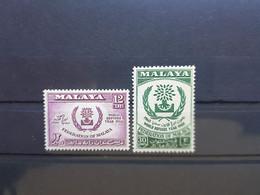 (MALAYA13) MALAYA MALAYSIA MALAISIE 1960 NEUFS ** MNH World Refugee Year - Federation Of Malaya