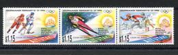 RC 20899 AITUTAKI COTE 12€ N° 535 / 537 SPORT JEUX OLYMPIQUES DE LILLEHAMMER 1994 NEUF ** MNH TB - Aitutaki