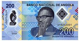 ANGOLA 200 KWANZAS 2020 Pick New Unc - Angola