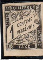 France .Emissions Générales Taxe  N° 1* - Taxes