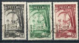 Fezzan                     Taxes    6/8  Oblitérés - Usati