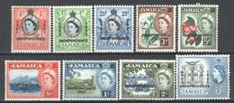 Giamaica 1962 Y.T.188/97 **/MNH VF/F - Jamaique (1962-...)