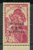 Guinée  ** N° 175 - Secours National - Nuovi