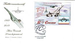 Concorde 2019 50 Ans  1 Vol   Irolla - Luchtvaart
