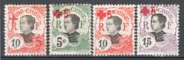 Indocina 1914 Y.T.65/68 */MH VF/F - Unused Stamps