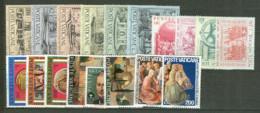 Vaticano 1975 Annata Completa/Complete Year MNH/** - Annate Complete