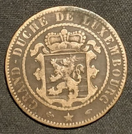 LUXEMBOURG - 10 CENTIMES 1855 A - Guillaume III - KM 23 - Luxembourg