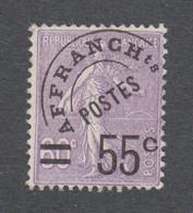 France - Préoblitéré Semeuse N°47 ** Neuf Sans Charnière - Cote Yvert : 350 Euros - TB - 1893-1947