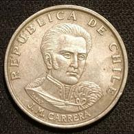 CHILI - CHILE - 1 ESCUDO 1972 - José Miguel Carrera Verdugo - KM 197 - Chile