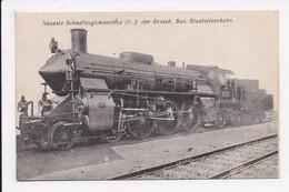 CP Neueste Schnellsuglokomotive IV F. Der Grossh.Bad.Staatseisenbahn - Equipment