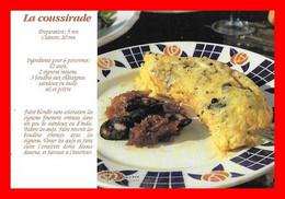 3 CPSM/gf  RECETTES (Cuisine).La Coussirade / Cêpes Côte D'argent / La Piperade Basquaise..M752 - Recipes (cooking)