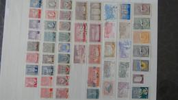S91 Collection De Timbres Oblitérés De Différents Pays. Idéal Pour Combler Les Thématiques.  A Saisir !!! - Collections (en Albums)