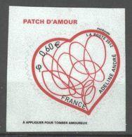 N° 648 Y.T. Neuf ** France Auto-adhésif 2012 Saint-Valentin Patch D'amour D'Adeline André - Luchtpost