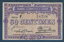 Chambre De Commerce De CAHORS -  50 Centimes - Pirot N° 12 - Cámara De Comercio