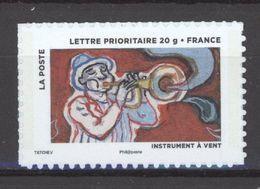 N° 897 A  Y.T. France Neuf ** Auto Adhésif 2013 Fête Du Timbre Le Timbre Fête L'air (support Blanc) - Luchtpost