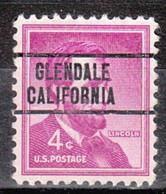 Locals USA Precancel Vorausentwertung Preo, Locals California, Glendale 263 - Precancels